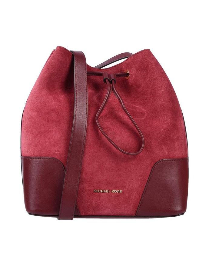 Tσάντα bucket από απομίμηση σουέτ