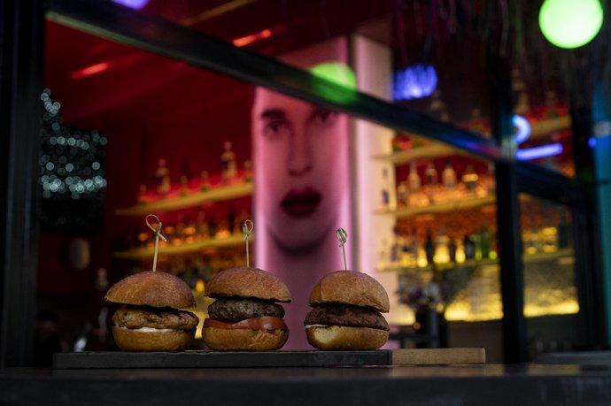 Shamonette mini burgers