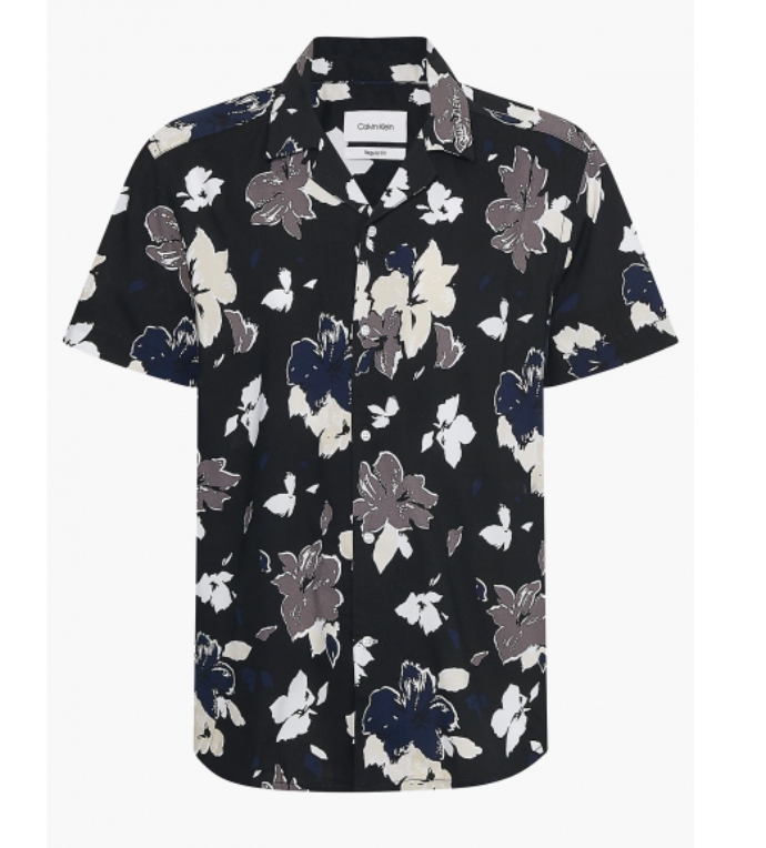 φλοράλ κοντομάνικο πουκάμισο
