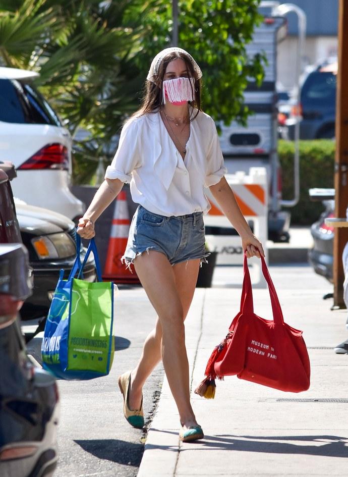μάσκα προσώπου, celebrities