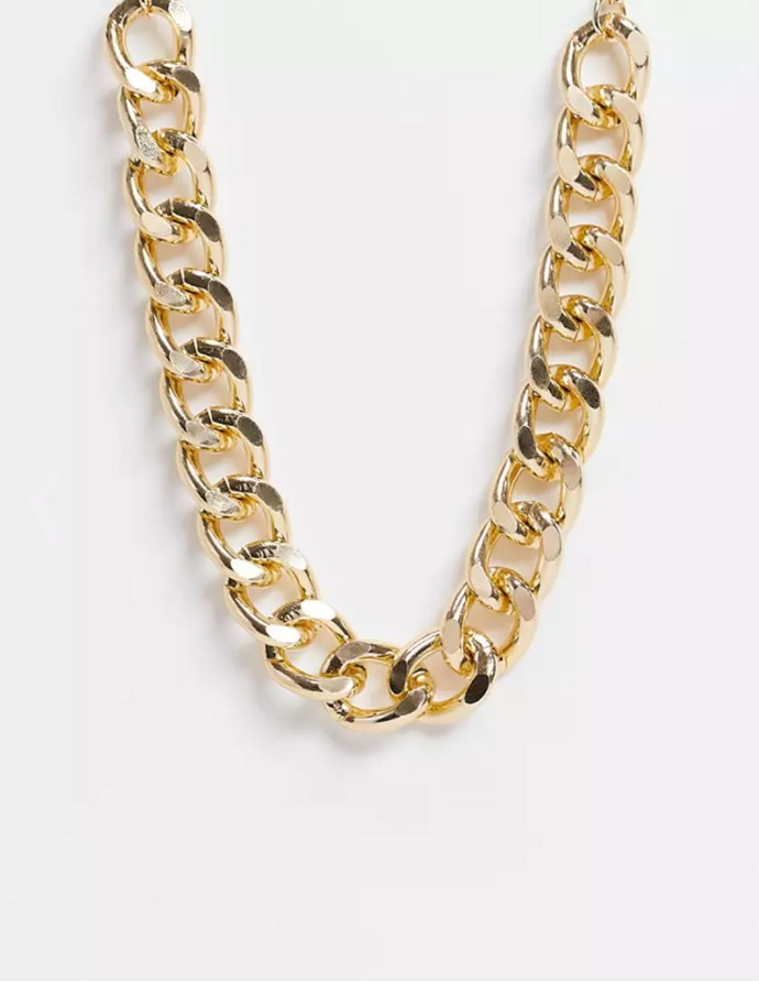 Chunky χρυσή αλυσίδα
