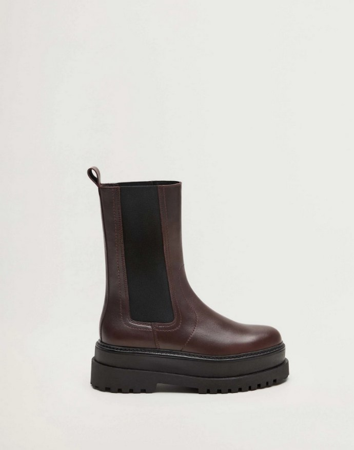 Δερμάτινα Chelsea boots