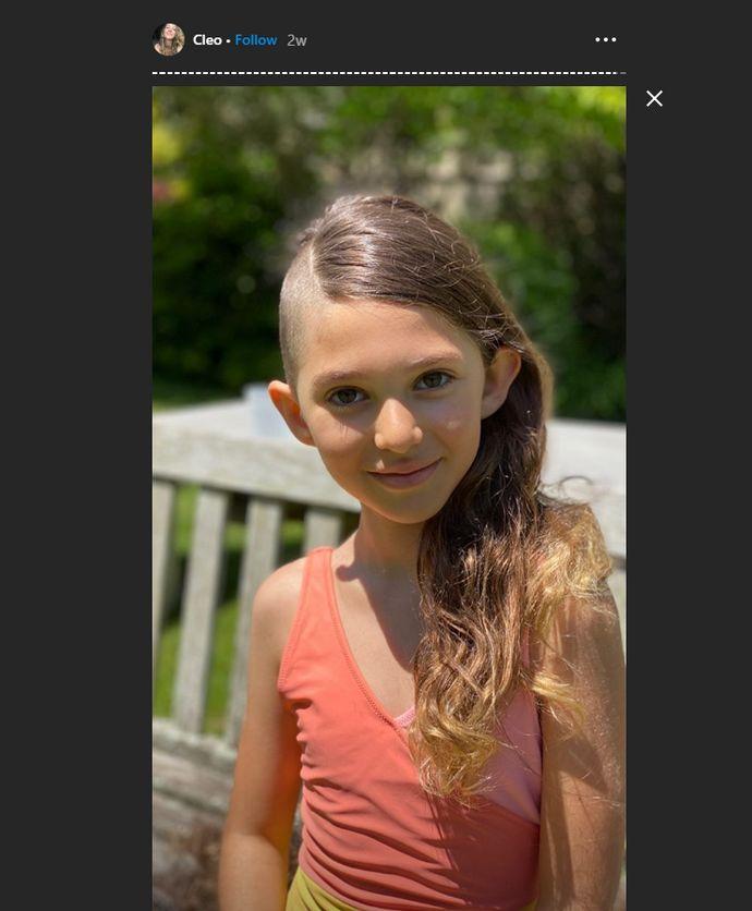 David Schwimmer κόρη
