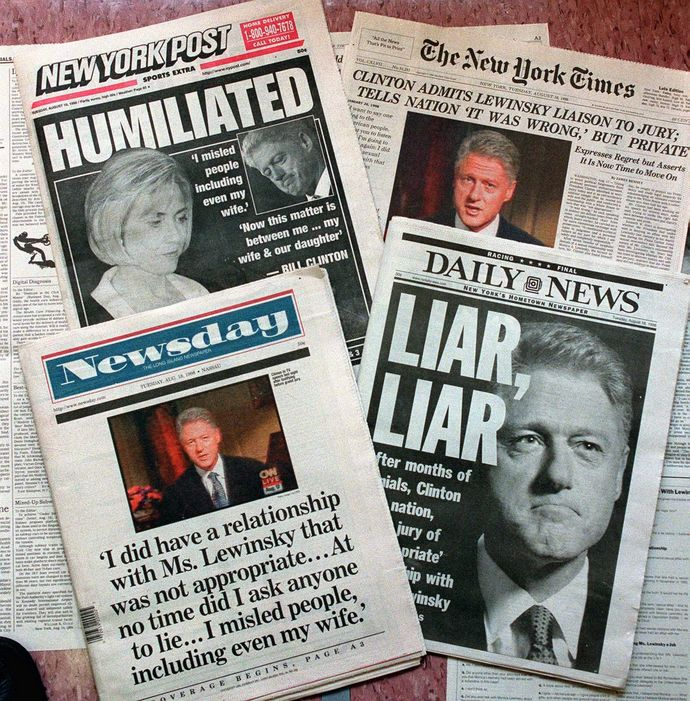 Bill Clinton Monica Lewinski Hillary