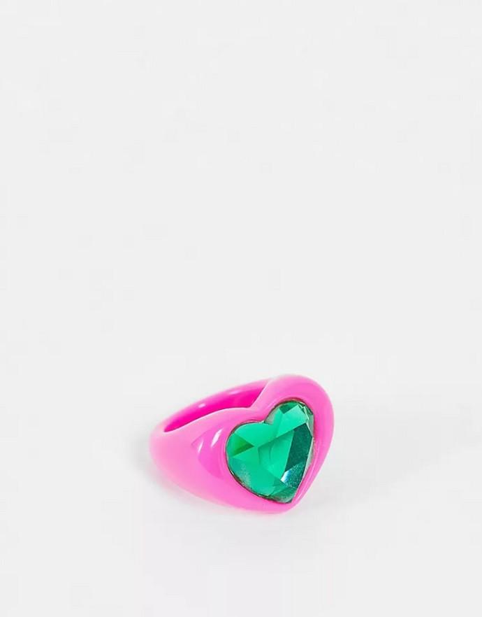 Δαχτυλίδι με καρδιά