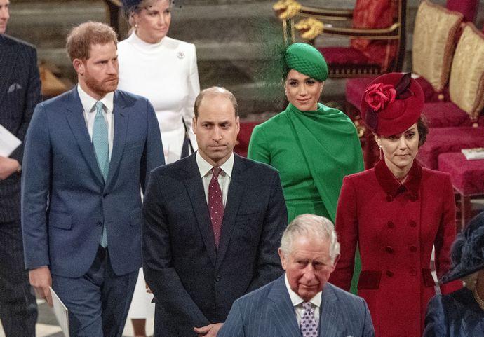 βασιλική οικογένεια harry meghan
