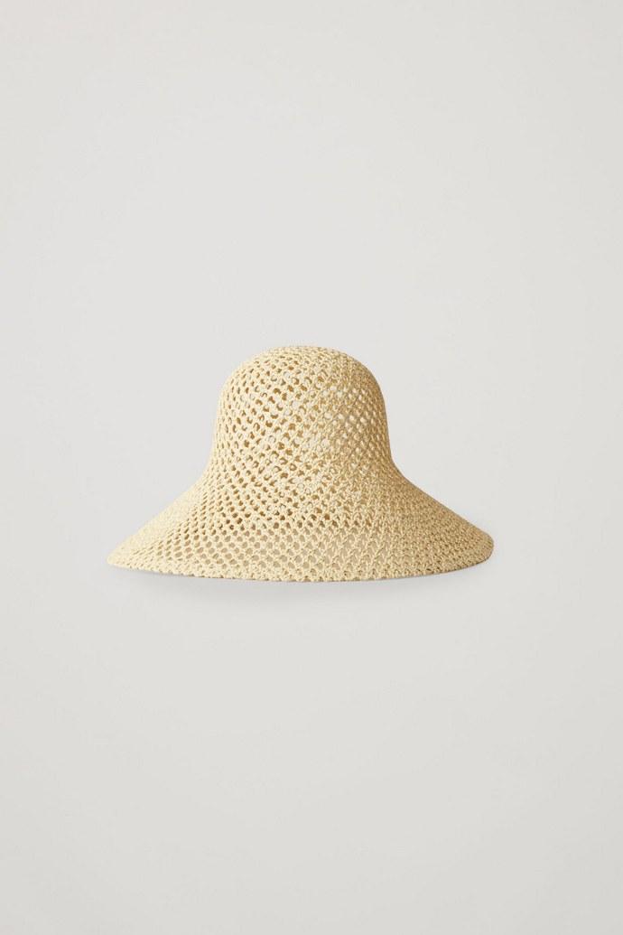 Ψάθινο καπέλο με pattern