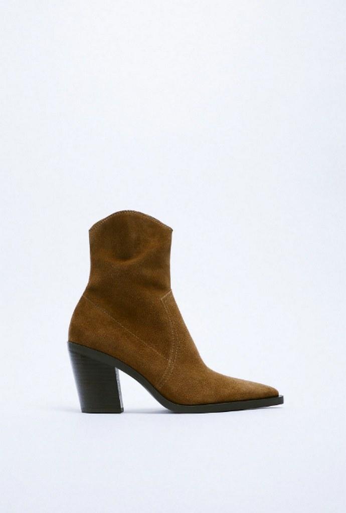 Σουέντ cowboy boots