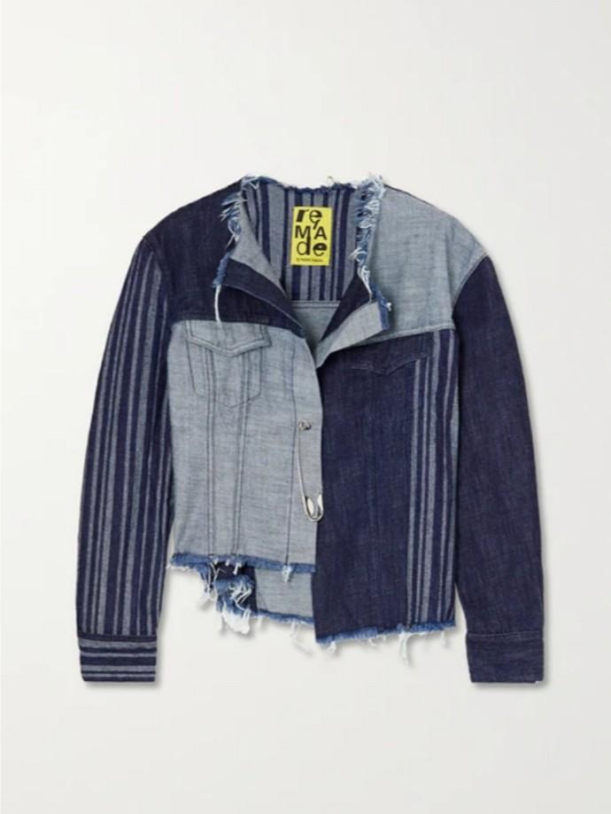 Ασύμμετρο denim jacket