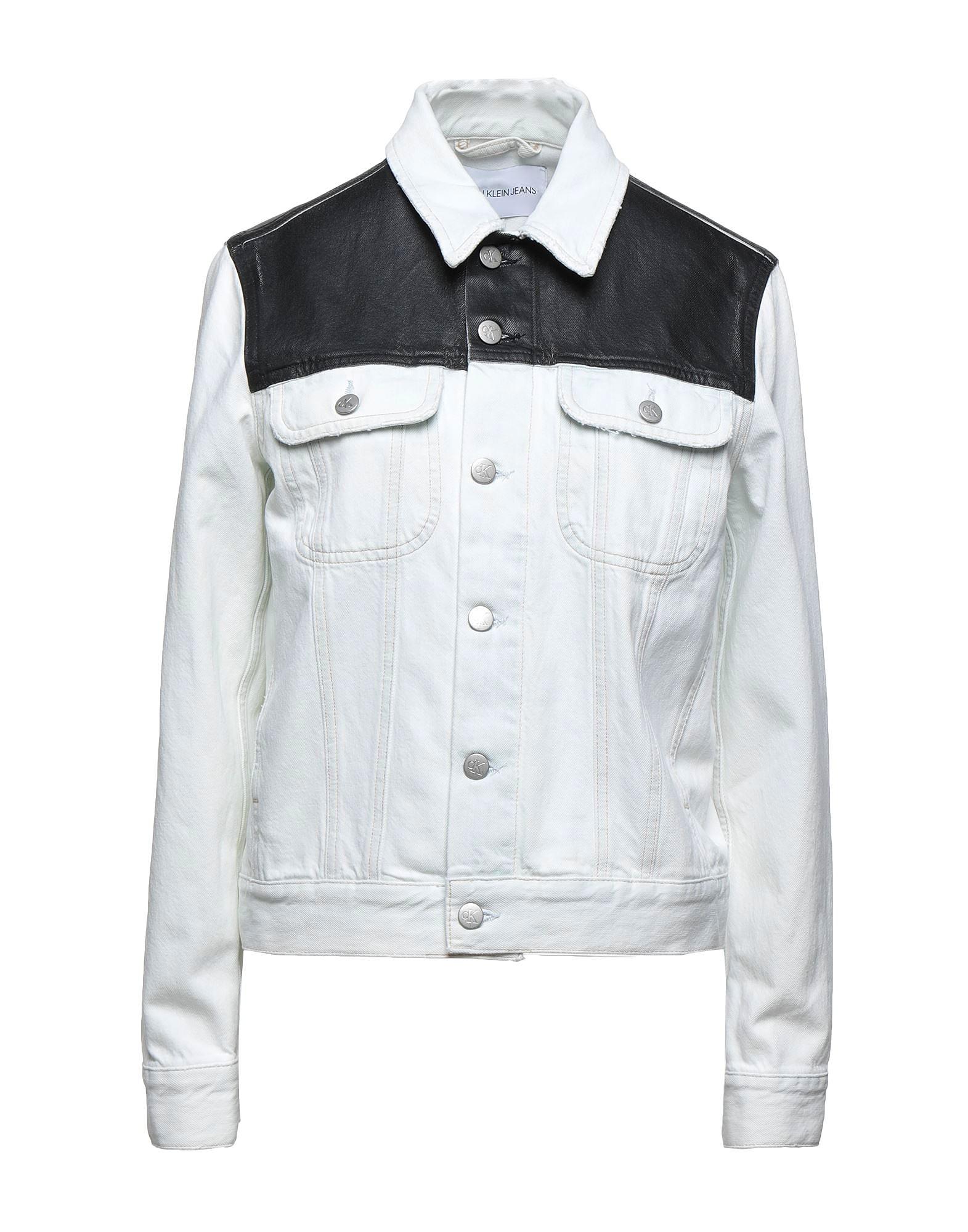 Τζιν jacket με γυαλιστερή όψη