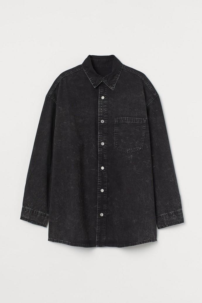 Οversized πουκάμισο