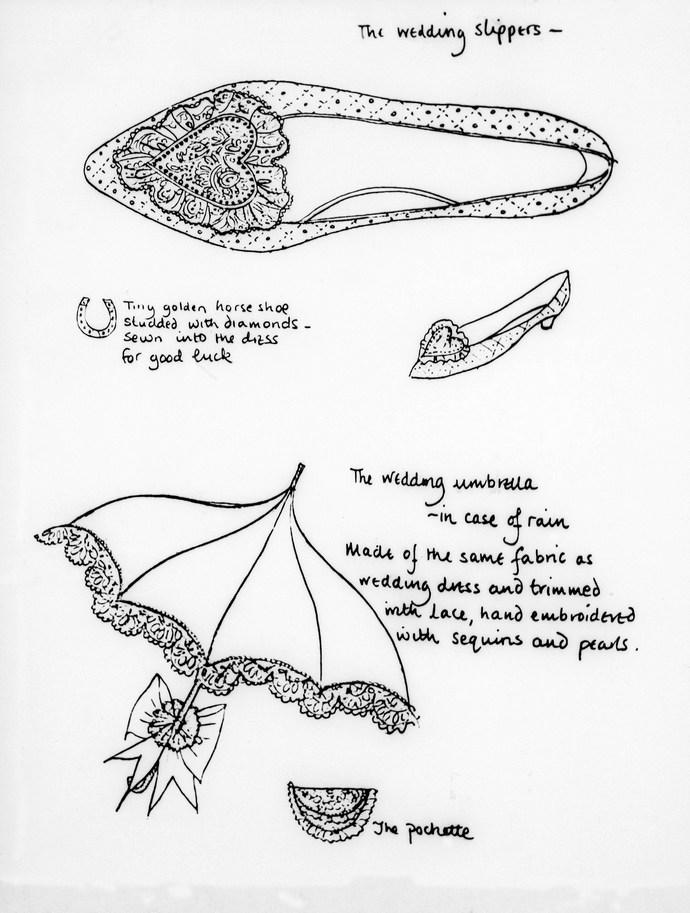 πριγκίπισσα Diana παπούτσια