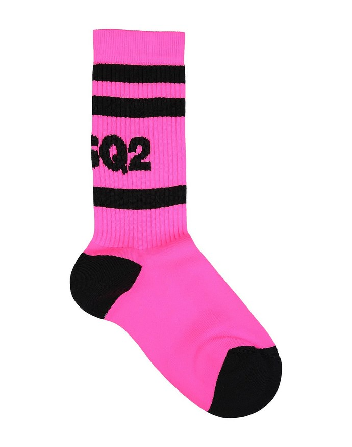 Κάλτσες σε έντονη φούξια απόχρωση