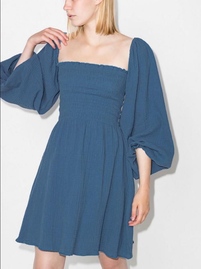 Μινι φόρεμα με square neckline
