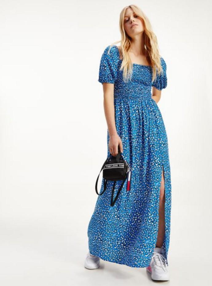 Μάξι φόρεμα με σκίσιμο