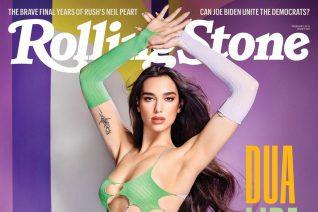 Η Dua Lipa με διχτυωτό καλσόν στο εξώφυλλο του Rolling Stone είναι hotter than hell αλλά κάποιοι δεν μπορούν να το αποδεχτούν αυτό