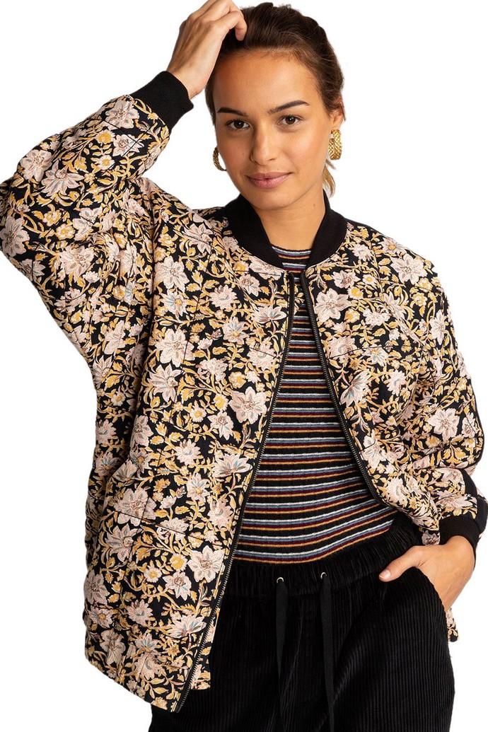 Φλοράλ bomber jacket