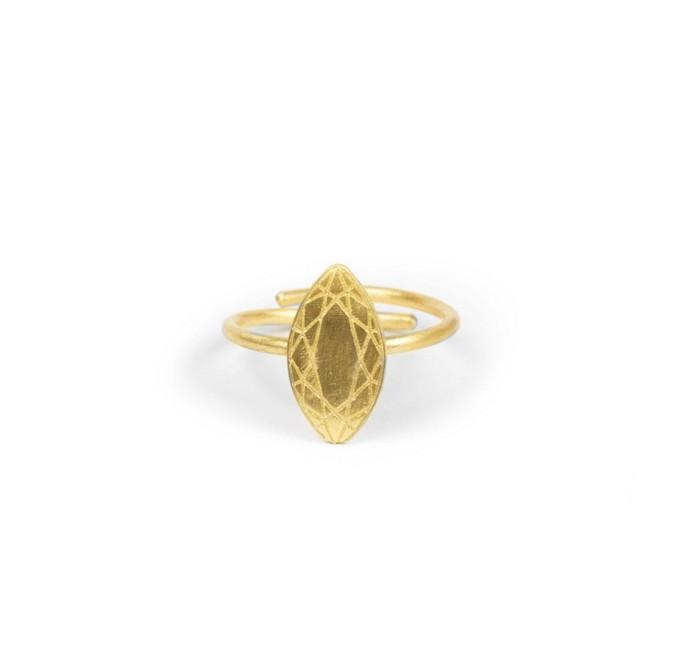 Επιχρυσωμένο δαχτυλίδι