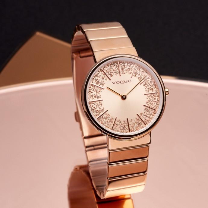 Ρολόι σε ροζ χρυσό
