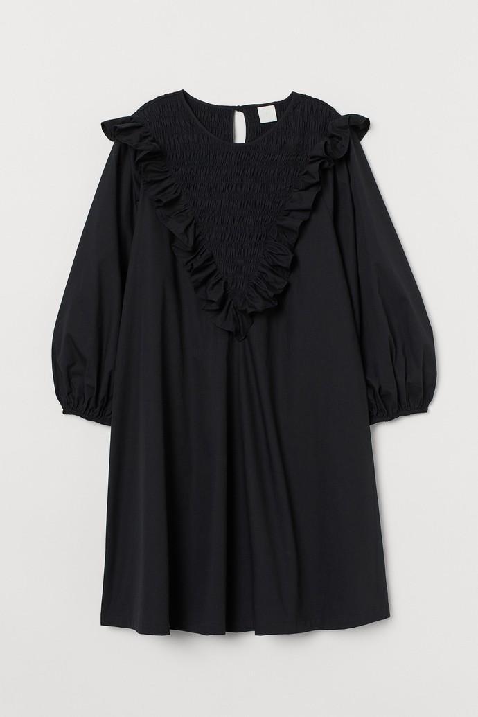 Mίνι φόρεμα με statement γιακά