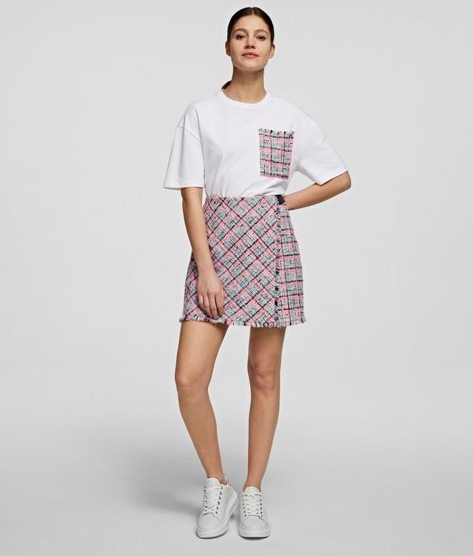 Μίνι καρό φούστα