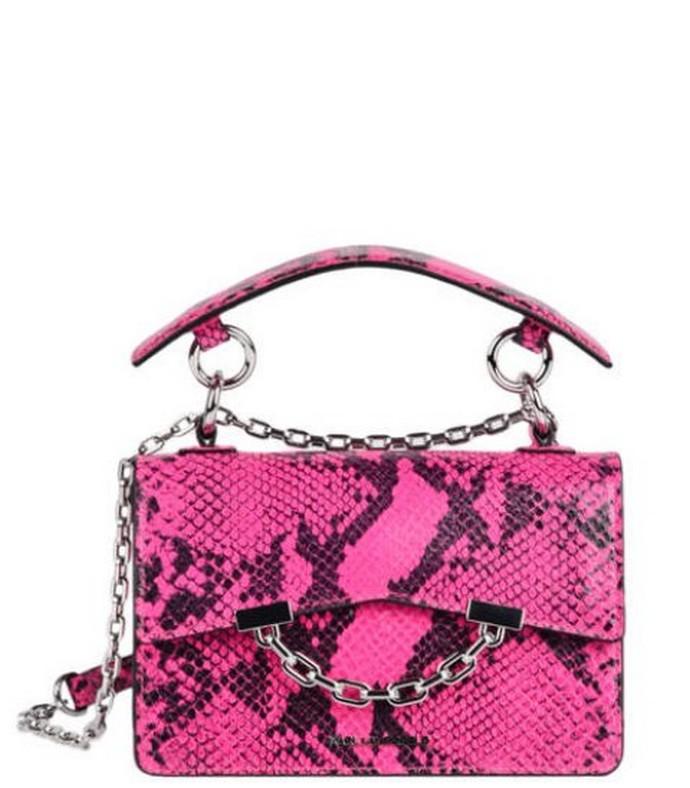 Δερμάτινη top handle bag