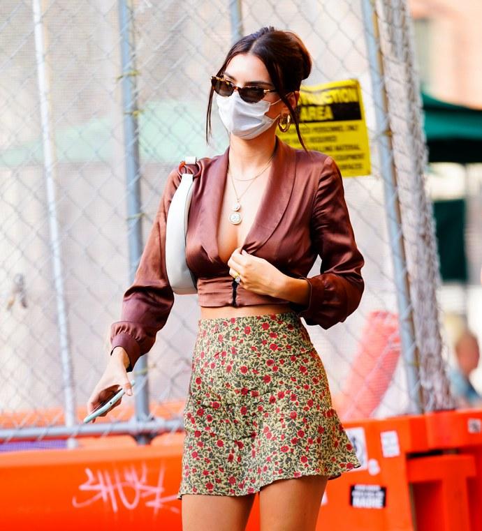 outfit της Emily Ratajkowski