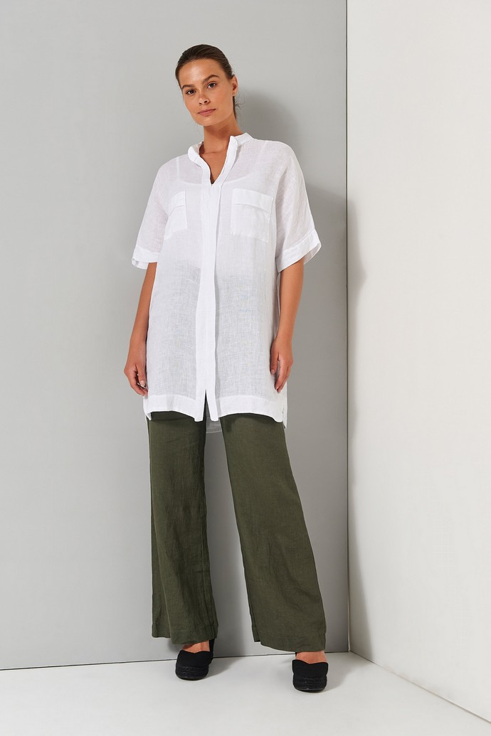 Kοντομάνικο πουκάμισο με τσέπες