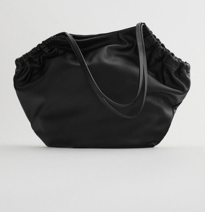 Mαλακή oversized τσάντα