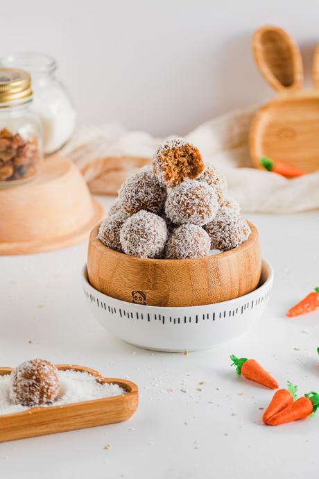 energy balls καρότου