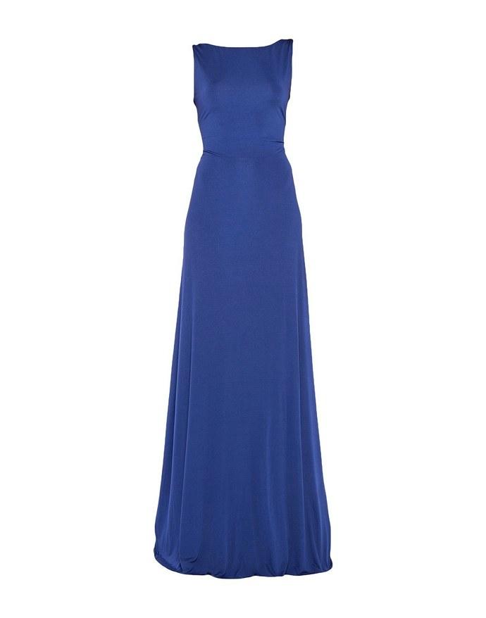 μπλε φόρεμα