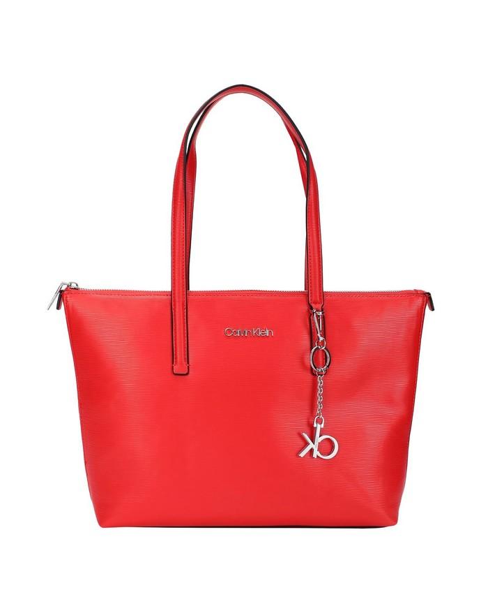 Τσάντα shopper με charm