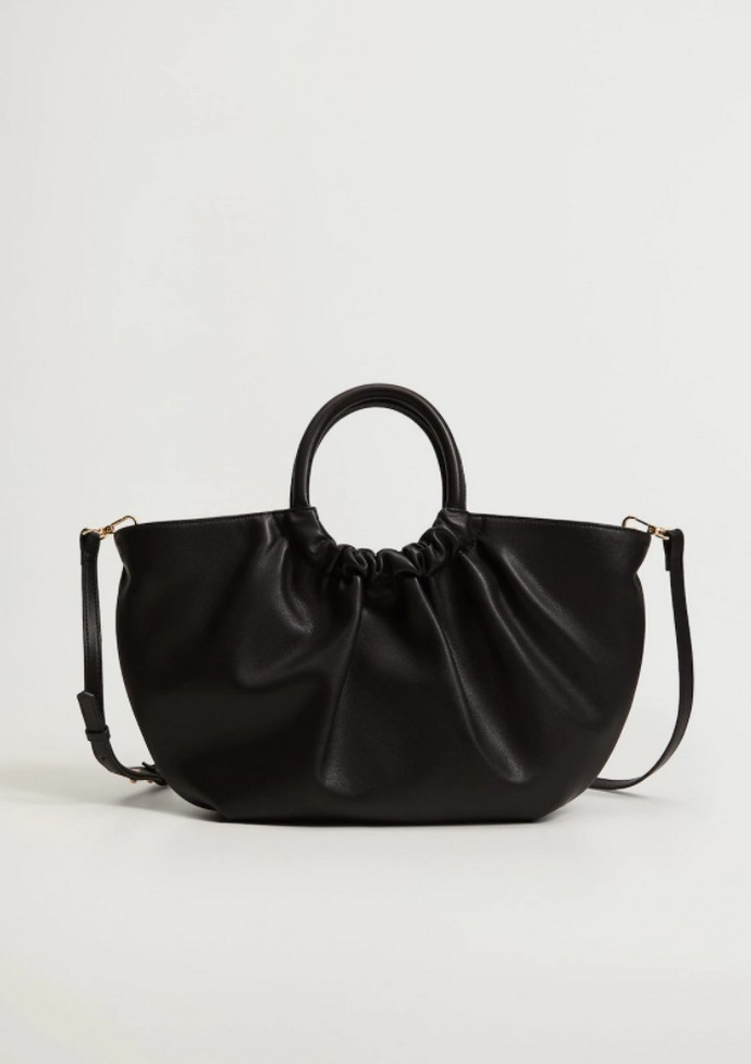 Τσάντα shopper με σούρα