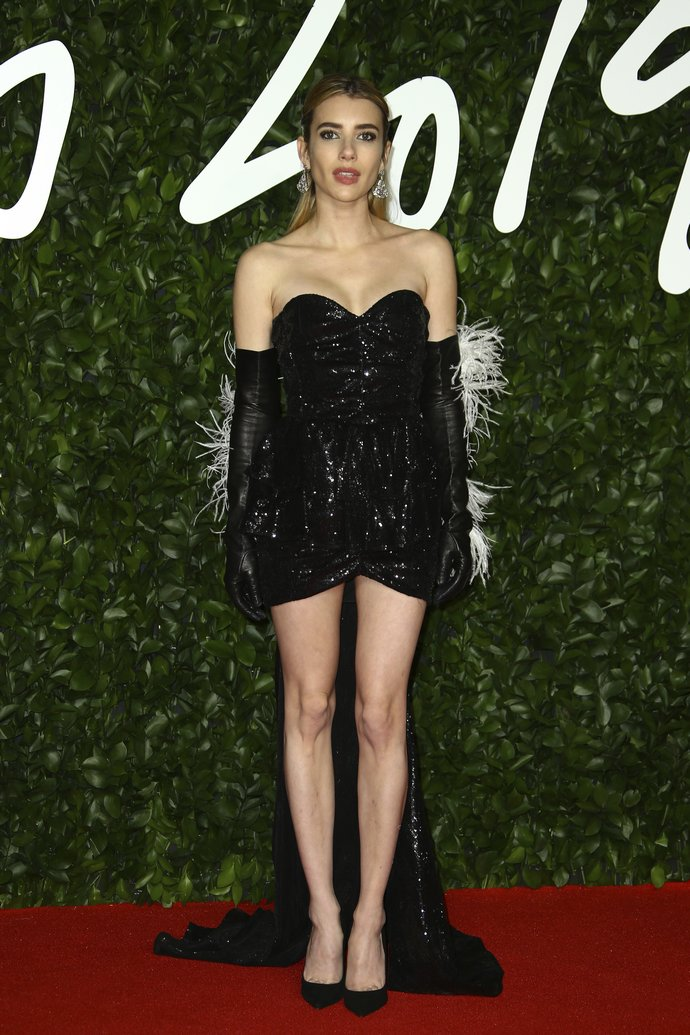 H Emma Roberts στα British Fashion Awards