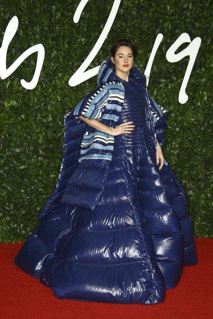H Shalene Woodley στα British Fashion Awards