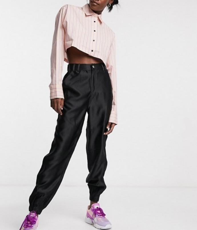 Cropped πουκάμισο