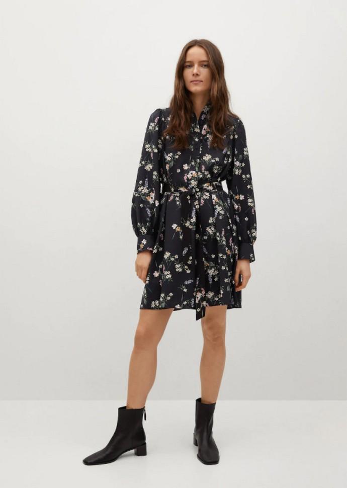 Shirtdress με ζώνη