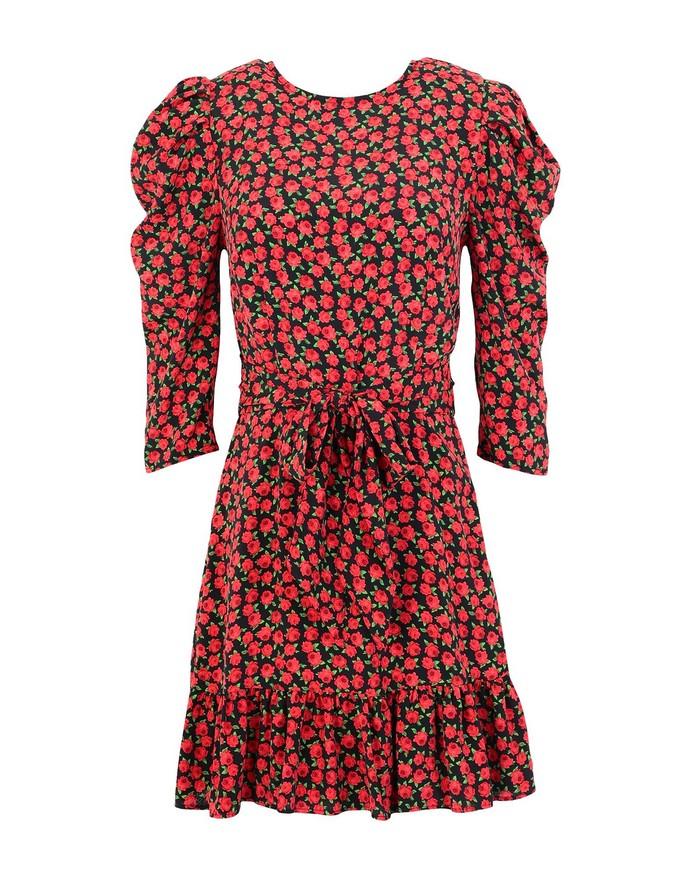 Μίνι φόρεμα με puffy sleeves