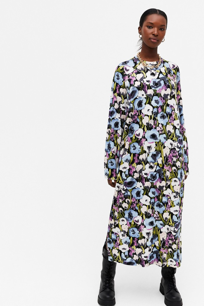 Mάξι φλοράλ φόρεμα