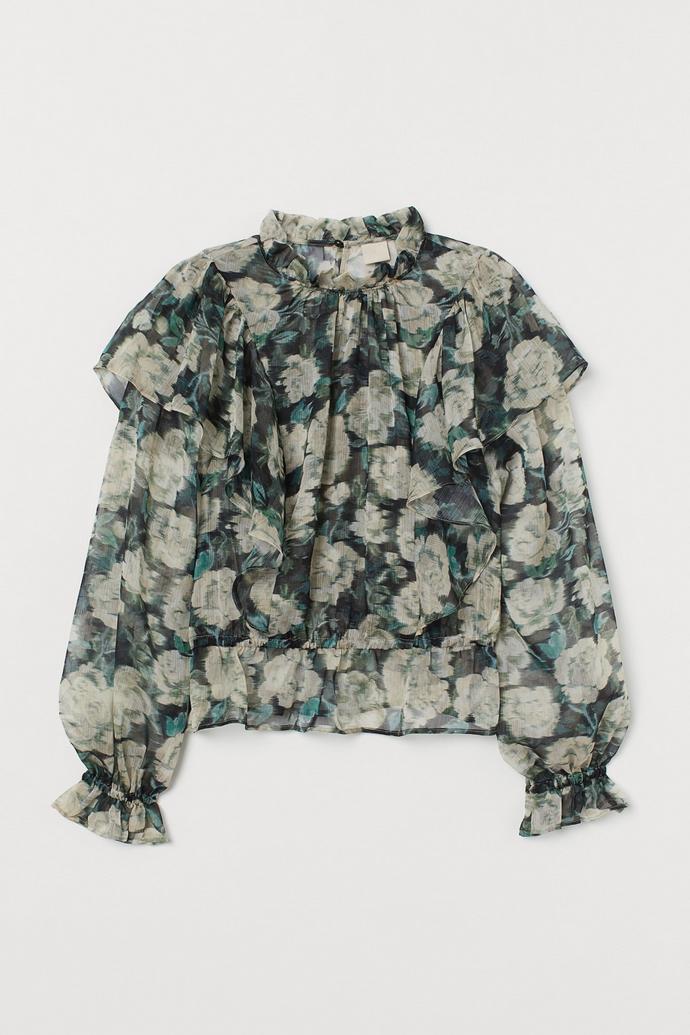 μπλούζα φλοράλ