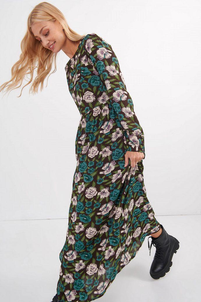 Μακρύ floral φόρεμα