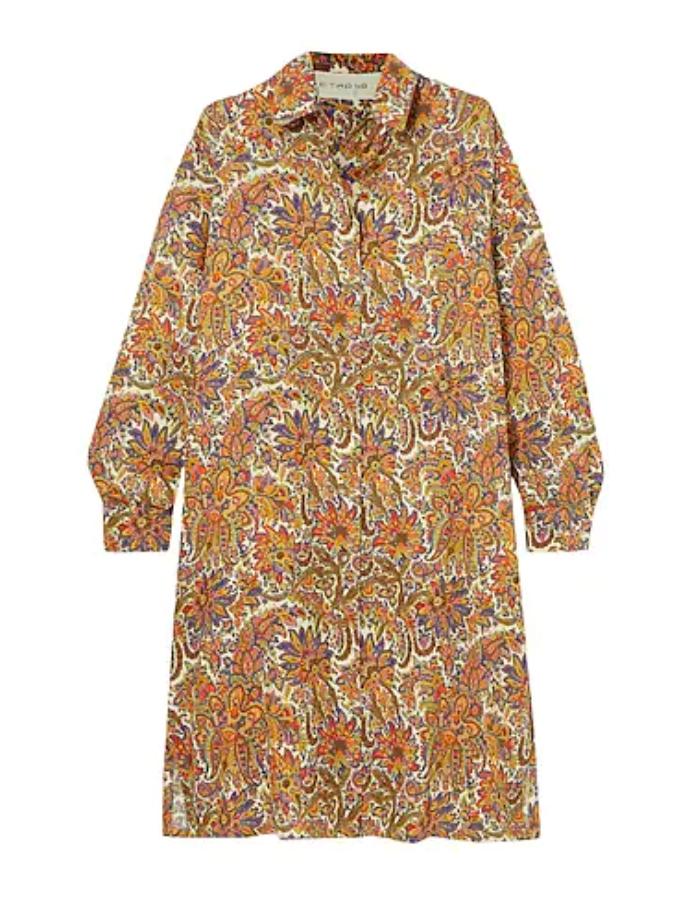 Σεμιζιέ φόρεμα με φλοράλ μοτίβο