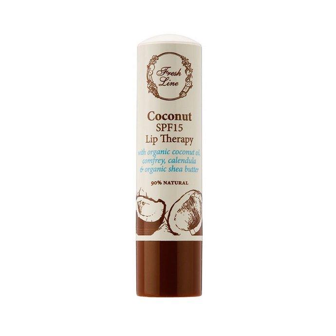 Fresh Line Coconut Θεραπεία Χειλιών με SPF15
