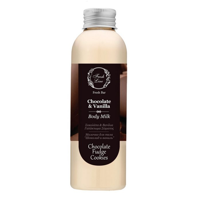 Fresh Line Chocolate & Vanilla Body Milk