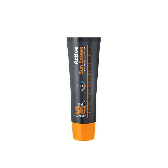 Frezyderm Active Sun Screen Lip Balm 3 in 1 SPF50