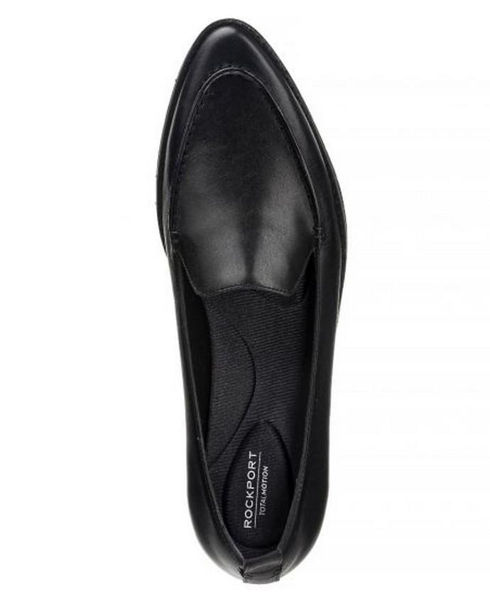 δερμάτινα μυτερά loafers