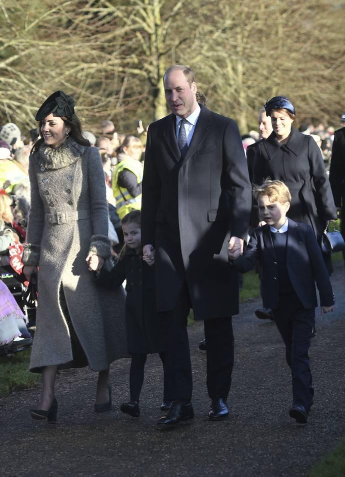 πρίγκιπας George πριγκίπισσα Charlotte