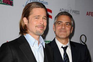 Η αγάπη του George Clooney για τον Brad Pitt είναι εκτός ελέγχου στο νέο βίντεο που έγινε viral