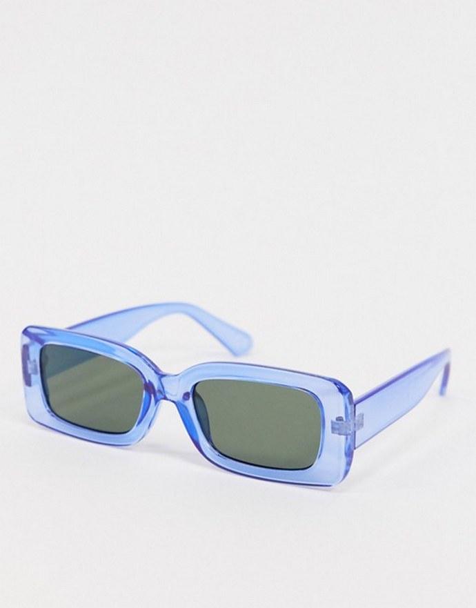Γυαλιά ηλίου με ημιδιάφανο σκελετό