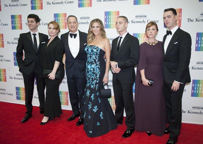 Η οικογένεια του Tom Hanks και της Rita Wilson